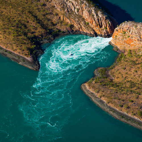 Horizontal Waterfalls.