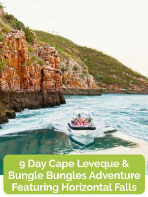9 Day Cape Leveque & Bungle Bungles Adventure featuring Horizontal Falls